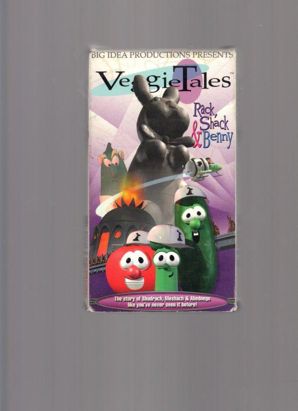 Veggietales Rack Shack And Benny 1995 Vhs