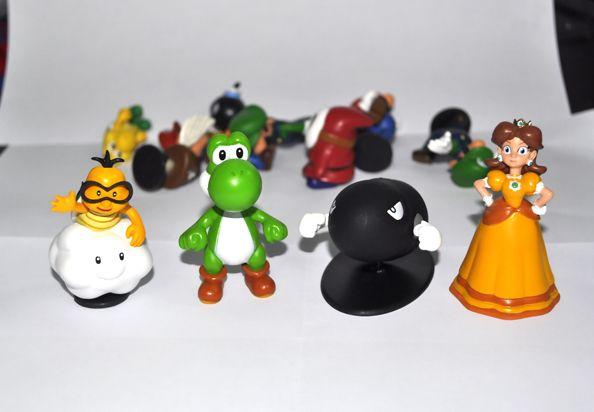 Super Mario Bros 1.5~2.5 Lot 18 pcs Action Figure Doll