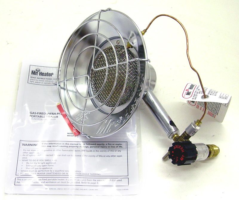 Mr. Heater Portable Propane Heater MH12T Outdoor use