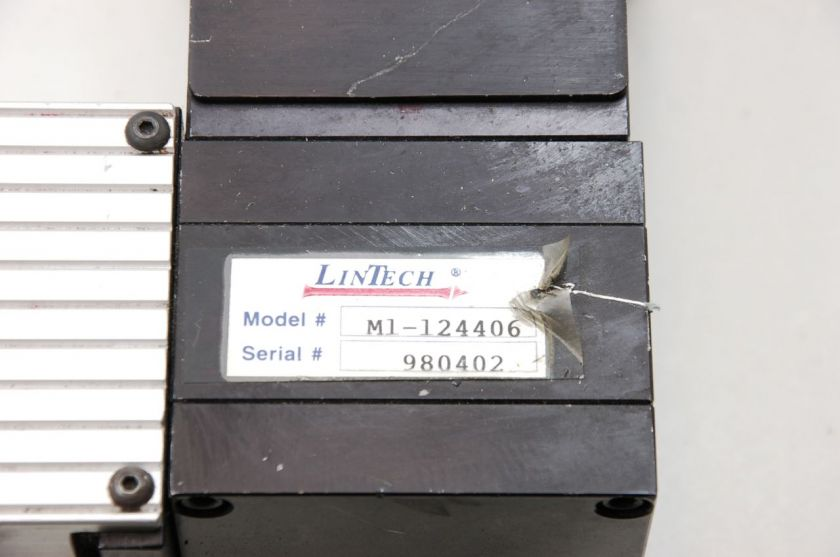Lintech M1 124400 Belt Driven Linear Rail Actuator w/ PX34 Bayside