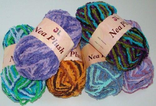 Nea Plush baby soft chenille yarn Silky